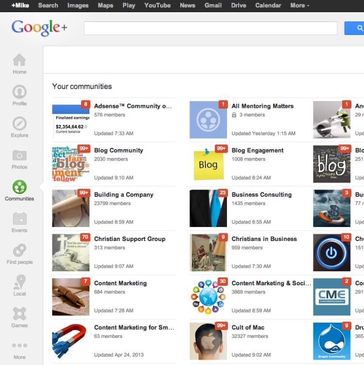 Google-Plus-Community